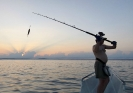 Tungt fiske.
