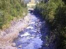Gaulfossen i lågvatten