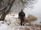Snöstorm i Spey.